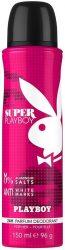 Playboy Super Playboy női Deo 150ml (6/zsugor, 12/karton)