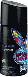 Playboy New York Skintouch férfi Deo 150ml (6/zsugor, 12/karton)