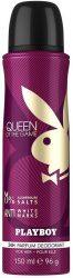 Playboy Queen of the Game női Deo 150ml (6/zsugor, 12/karton)