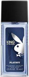 Playboy King of The Game Férfi 75 ml Deo Natural Spray (3/zsugor, 12/karton)