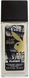Playboy VIP My Story Férfi 75 ml Deo Natural Spray (3/zsugor, 12/karton)