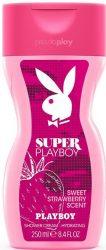 Playboy Super női tusfürdő 250ml (6/zsugor, 12/karton)
