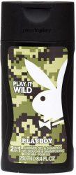Playboy Play It Wild férfi tusfürdő 250ml (6/zsugor, 12/karton)