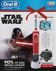 Braun Oral-B D100 Vitality Star Wars + útitok Gyerek Elektromos fogkefe