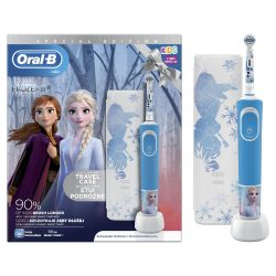 Braun Oral-B D100 Vitality Frozen + útitok Gyerek Elektromos fogkefe
