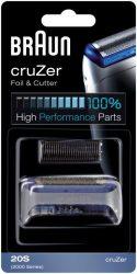 Braun Combi-pack 20 S Cruzer/FreeControl Silver szita és kés egyben