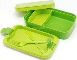 Curver Lunch&Go ételtartó evőeszközzel ZÖLD (6/karton)