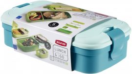 Curver Lunch&Go ételtartó evőeszközzel KÉK (6/karton)
