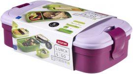 Curver Lunch&Go ételtartó evőeszközzel LILA (6/karton)