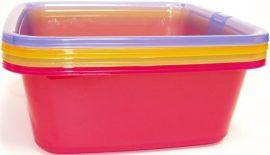 Curver Négyszögletes Tál 11L vegyes színek (15/karton)
