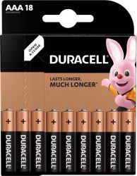 DURACELL MN 2400 K18 BASIC Mikro 18 db (10/karton)