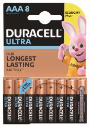 DURACELL MX 2400 K8 ULTRA AAA Mikro 8 db (10/karton)