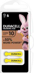 DURACELL DA 10 B6 Easytab elem hallókészülékhez 6 db (10/karton)