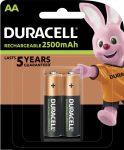 DURACELL LSD B2 Ceruza tölthető elem 2500 mAh 2 db (10/karton)