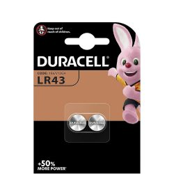 DURACELL LR 43 B2 alkáli 2 db (10/karton)