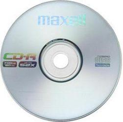 Maxell CD-R 80 52X, 1db papírtokban (50db/karton)