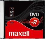 Maxell DVD-R 4.7 16x vékony tokos (100db/karton)