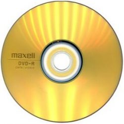 Maxell DVD-R 4,7GB 16X, 1db papírtokban (50db/karton)