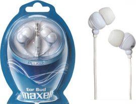 Maxell Plugz fehér fülhallgató (8/karton)