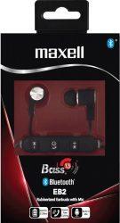 Maxell EB-2 BASS 13 BT fejhallgató fekete