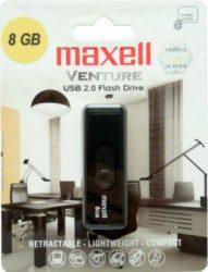 Maxell USB memória 8GB pendrive Venture (10db/karton)