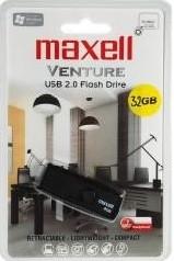 Maxell USB memória 32GB pendrive Venture (10db/karton)