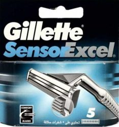 Gillette Borotvabetét Sensor Excel 5 db-os (10/karton)