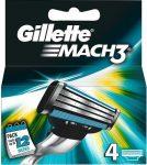 Gillette Borotvabetét Mach3 4 db-os (10/karton)
