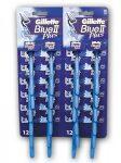 Gillette Blue II Plus Ultra Grip HRDC (288pár/karton=576db)