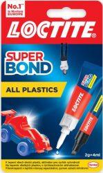 LOCTITE Super Attak Plastik pillanatragasztó 2g (12/karton)