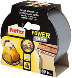 PATTEX Power Tape 10m ezüst (12/karton)
