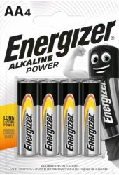 ENERGIZER Power B4 AA ceruza E91 4 db (24/karton)