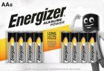 ENERGIZER Power B8 AA ceruza E91 8 db (12/karton)