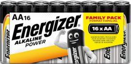 ENERGIZER Power B16 AA ceruza E91 zsugoros 16 db (12/karton)
