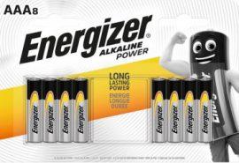 ENERGIZER Power B8 AAA mikro E92 8 db (12/karton)