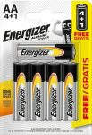 ENERGIZER Power B4 4+1 AA ceruza E91 5 db (24/karton)