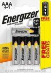 ENERGIZER Power B4 4+1 AAA mikro E92 5 db (12/karton)