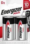 ENERGIZER MAX B2 D góliát E95 2 db ÚJ! (6/karton)