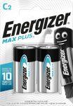 ENERGIZER MAX PLUS B2 C baby E93 2 db (12/karton)