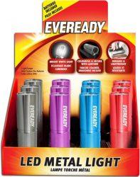 EVEREADY Metal Colour + 3AAA elemlámpa