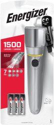 ENERGIZER Metal Vision HD Focus 3 LED + 6 db AA elemlámpa (4/karton)