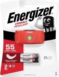 ENERGIZER Headlight 1 LED + 2 db AAA fejlámpa (6/karton)