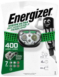 ENERGIZER Headlight Vision Ultra 4 LED tölthető fejlámpa (4/karton)