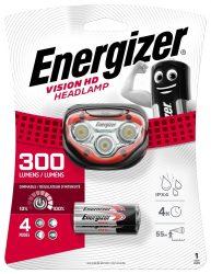 ENERGIZER Headlight Vision HD 3 LED + 3 db AAA fejlámpa (6/karton)