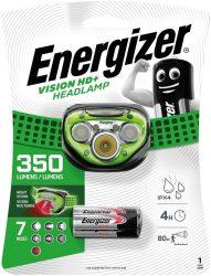 ENERGIZER Headlight Vision HD+ 5 LED + 3 db AAA fejlámpa (6/karton)