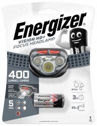 ENERGIZER Headlight Vision HD+ Focus 5 LED + 3 db AAA fejlámpa (6/karton)