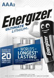 ENERGIZER Ultimate Lithium B2 AAA mikro 2 db (12/karton)