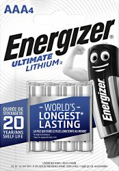 ENERGIZER Ultimate Lithium B4 AAA mikro 4 db (12/karton)