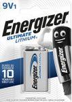 ENERGIZER Ultimate Lithium B1 9V 1 db (12/karton)