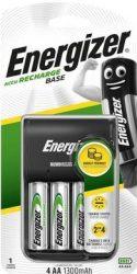 ENERGIZER Base töltő + 4 db AA Univerzális 1300mAh (4/karton)